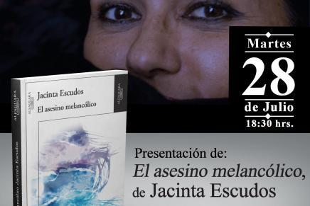 Presentación de El asesino melancólico en SanSalvador