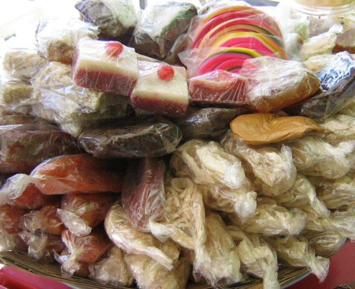 Dulces típicos salvadoreños. Foto de la autora.