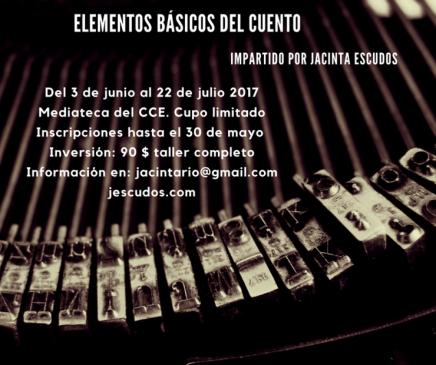 """Taller: """"Elementos básicos del cuento"""" en SanSalvador"""