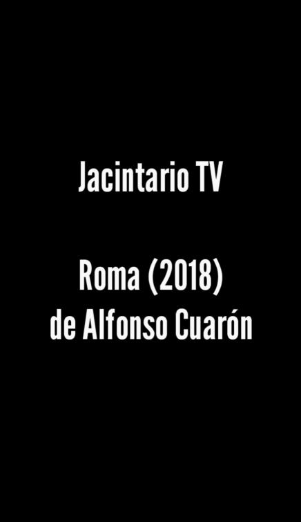 Roma (2018), AlfonsoCuarón