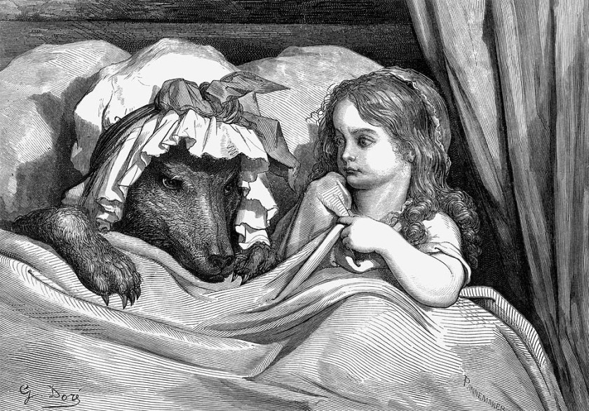 Grabado de Gustave Doré